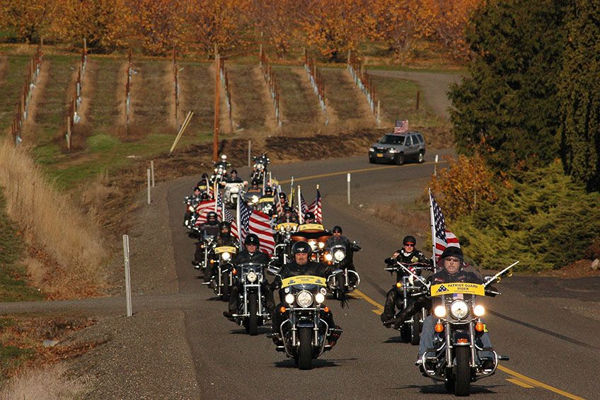 Can a Family Request Patriot Guard Riders?