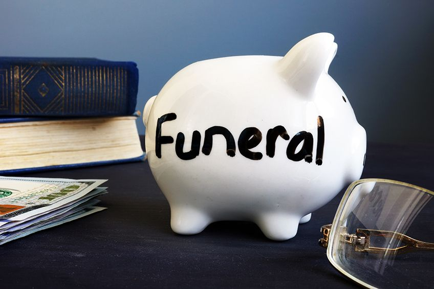 What are the payment options for burial or cremation spaces?