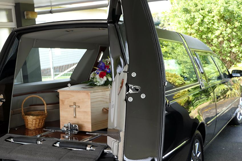 What are some ideas for a personalized procession to the cemetery?